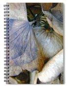 Tissue Paper Petals Spiral Notebook