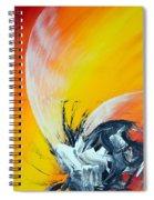 Titanium Spiral Notebook
