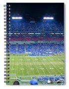 Titans Lp Field 9-3-2010 Spiral Notebook