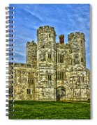 Titchfield Abbey Hdr Spiral Notebook