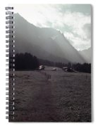Titlis Fields And Farm Spiral Notebook