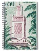 Tlemcen Great Mosque Spiral Notebook