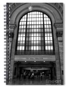 To All Trains Chicago Union Station Spiral Notebook
