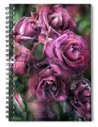 To Be Loved - Mauve Rose Spiral Notebook