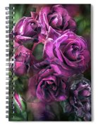 To Be Loved - Purple Rose Spiral Notebook