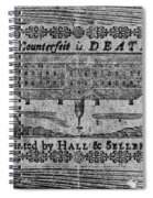 'to Counterfeit Is Death Spiral Notebook