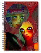 002 - To Lean On    Spiral Notebook