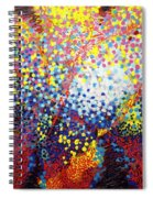 To Make Visible The Invisible Viii Spiral Notebook