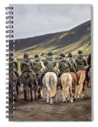 To Ride The Paths Of Legions Unknown Spiral Notebook