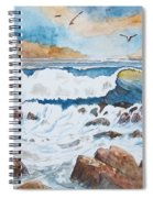 To Rough For Fishing Spiral Notebook