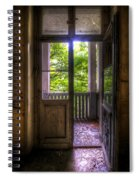 To The Balcony  Spiral Notebook