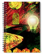 To The Light Spiral Notebook