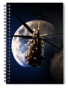 To The Moon Spiral Notebook