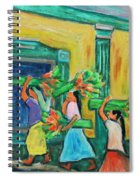 To The Morning Market Spiral Notebook
