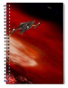 To The Planet's Surface Spiral Notebook