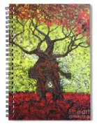 To The World You Go Spiral Notebook