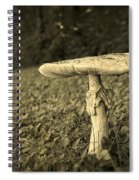 Toadstool Spiral Notebook