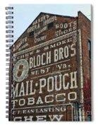 Tobacciana - Mail Pouch Tobacco Spiral Notebook