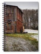 Tobacco Barn Spiral Notebook