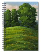 Toboggan Hill Spiral Notebook