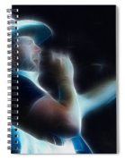 Toby Keith Fractal-1 Spiral Notebook