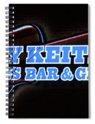 Toby Keith's Spiral Notebook