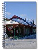Tobyhanna Train Station Spiral Notebook