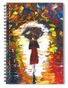 Today I Walk Alone Spiral Notebook