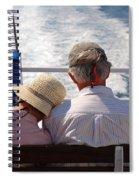 Together In Greece Spiral Notebook