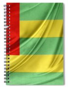 Togo Flag Spiral Notebook