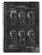Toilet Paper Patent 040 Spiral Notebook