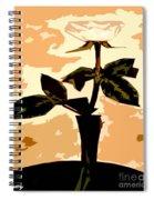 Token Of Love Spiral Notebook