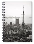 Tokyo Tower And The Zozo-ji Temple Spiral Notebook