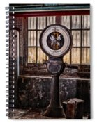 Toledo No Springs Scale Spiral Notebook
