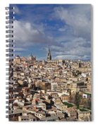 Toledo Old Town Panorama Spiral Notebook