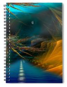Toll Road Spiral Notebook