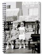 Tom Platz At Venice Beach Spiral Notebook