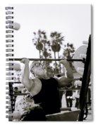 Tom Platz Spiral Notebook