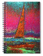 Tom Ray's Sailboat 3 Spiral Notebook
