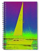 Tom Ray's Sailboat Spiral Notebook