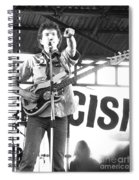 Tom Robinson Band Spiral Notebook