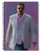 Tom Selleck Spiral Notebook