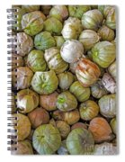 Tomatillos At The Local Market Spiral Notebook