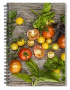 Tomatoes And Herbs Spiral Notebook