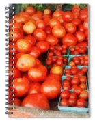 Tomatoes For Sale Spiral Notebook