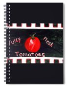 Tomatoes Market Sign Spiral Notebook