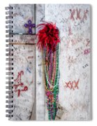 Tomb Of Marie Laveau New Orleans Spiral Notebook