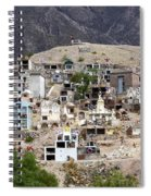 Tombs And Crosses Maimara Argentina Spiral Notebook