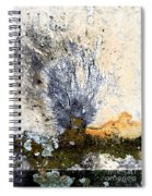 Tombstone Abstract Spiral Notebook