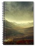 Tombstone Range Seasons Spiral Notebook